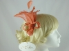 Hawkins Collection Fascinator with Sinamay Petals